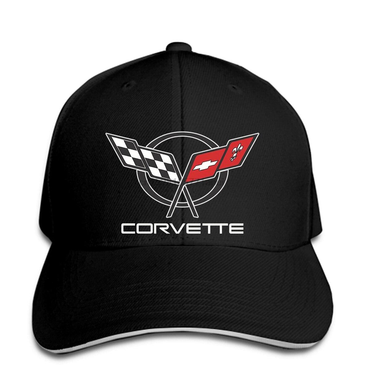 Baseball cap CORVETTE C5 - -CHEMISE CORVETTE C5 RACING TEAM ALL LOGO IN BRODERY