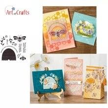 Honey Bee прозрачный Штамп для рукоделия скрапбукинга, открыток для детей, Забавный фотоальбом, украшения, принадлежности
