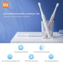 샤오미 Mijia T100 소닉 전동 칫솔 USB 충전식 칫솔 IPX7 방수 울트라 소닉 자동 성인 칫솔
