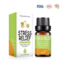 Stress Relief 10ml Pure & Natural Anti-stress Essential Oils