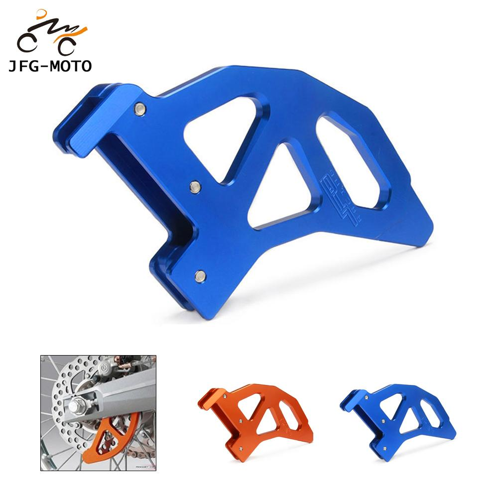 Motorcycle CNC Rear Brake Disc Disk Guard Protector For Husqvarna TC FC TE FE 125 150 200 250 300 350 400 450 2014-2017 FC250 image