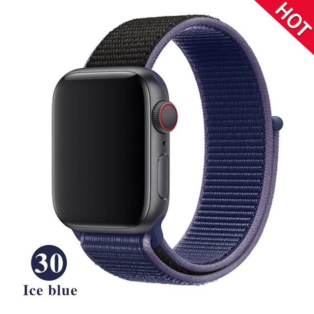 The sport band is the Apple Watch band 5 3 iwatch band 42mm 38mm 44mm 40mm correa Apple Watch band 4 bracelet Watch accessory | Watchbands