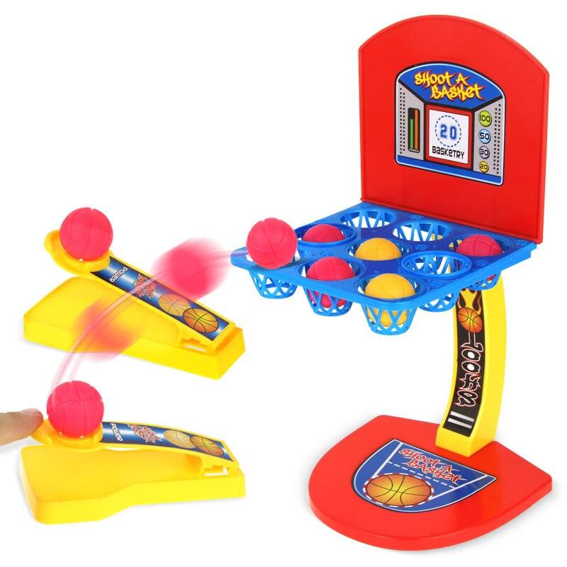 ילדי משחקי מיני כדורסל צעצוע כדורסל מקורה שולחן משחק שולחן העבודה כדורסל ילדים משחקים לילדים משחקים לילדים