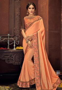 17 ألوان رائع الهندي الساري الهندي للمرأة الجميلة التطريز ساري العرقية النسيج 3