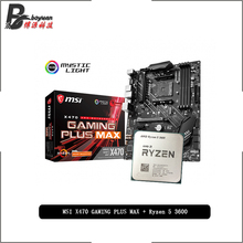MAX Cooler 3600-Cpu Msi X470 Gaming-Plus Amd Ryzen Suit-Socket New AM4 But R5 All Without
