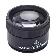 Lupa 5x 10x 15x 30x óculos lupa para o telefone lupa lupa led iluminado lente olho para reparação de relógio