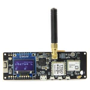 Image 4 - LILYGO®TTGO T קרן V1.1 ESP32 433/868/915/923Mhz WiFi Bluetooth מודול ESP32 GPS NEO 6M SMA 18650 סוללה מחזיק עם OLED