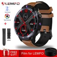 LEMFO LEM12 Dual Camera Face Unlook 1.6 Inch 4G Smart Watch Android 7.1 3GB 32GB 1800mah Battery Men Smartwatch Women in stock