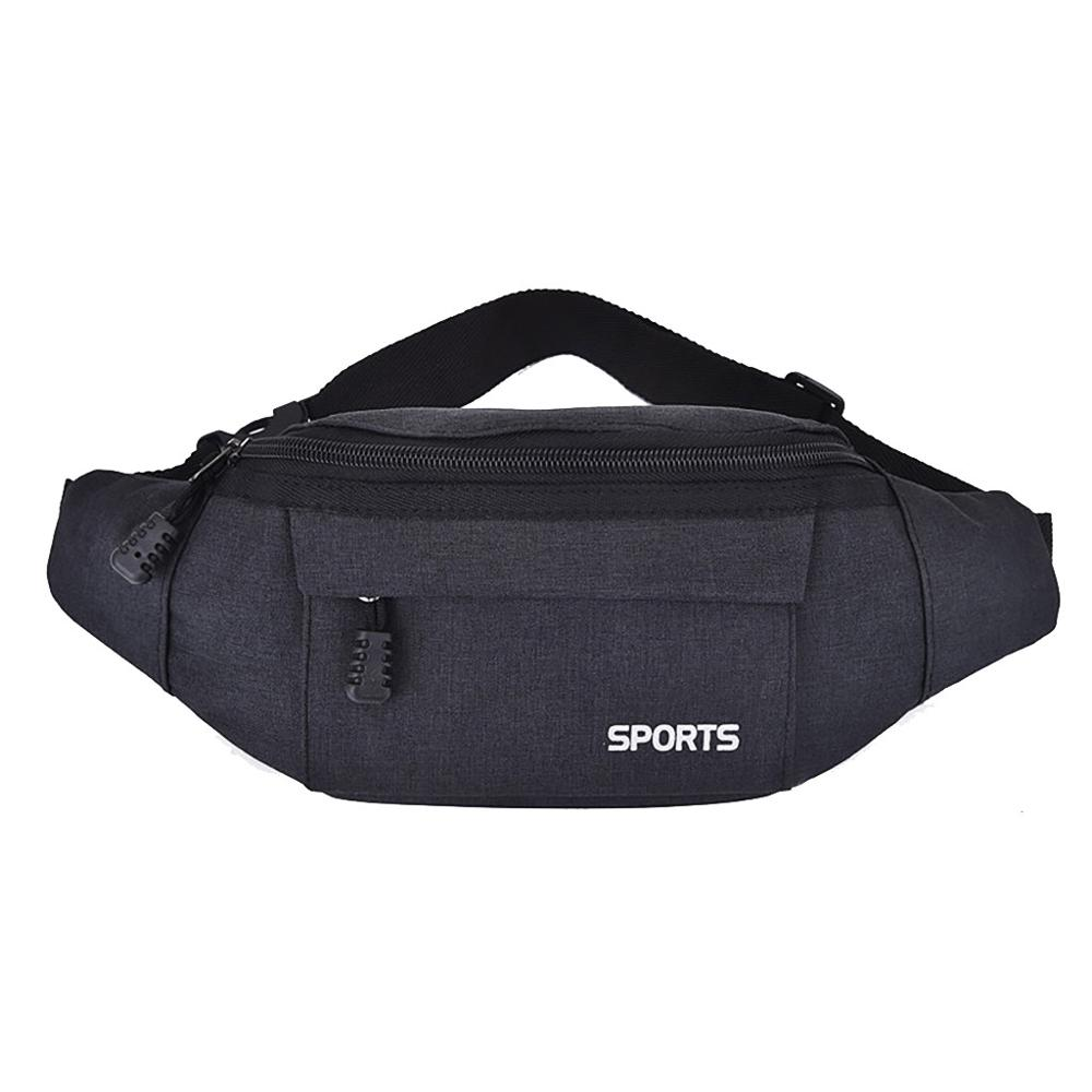 Men's  Women's Waist Bag Leisure Fashion Oxford Sport Fitness Simple Stylish Casual Solid Color Movement Personality H1