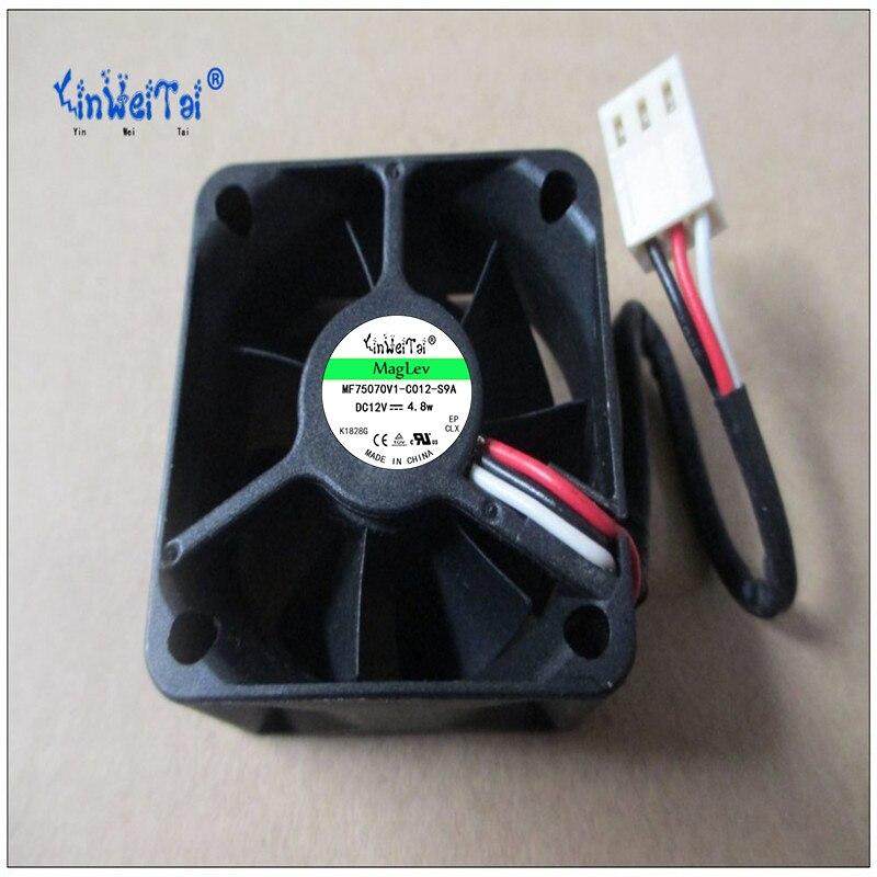 Frete Grátis para SEI 4020 A4020H12MD 40mm 4cm 40*40*20MM 4*4*2 CENTÍMETROS DC 12V 0.1A servidor Ventilador de Refrigeração para 1U