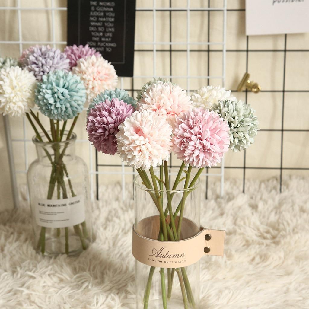 Multicolor Artificial Flowers Fake Plastic Plant Flowers Home Garden Wedding Decoration Home Decoration Accessories 1