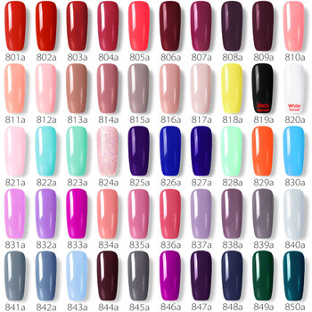 Matte finish top coat nail polish