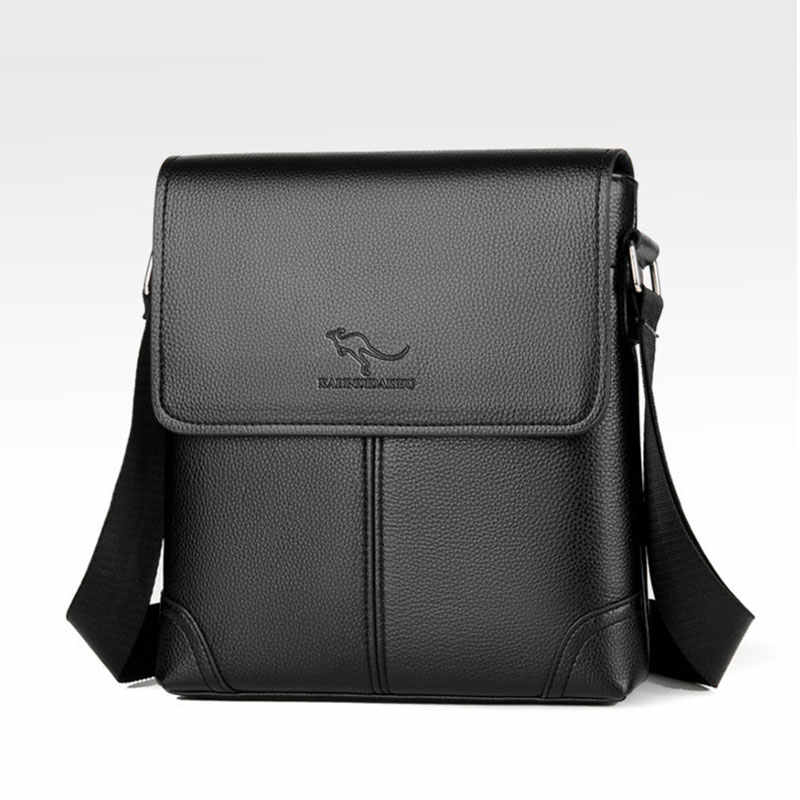 Men Tote Bags PU Leather Famous Brand New Fashion Men Messenger Bag Male Cross Body Shoulder Business Bags For Men