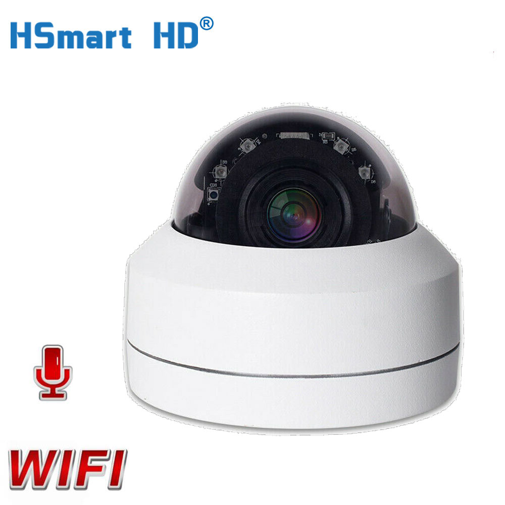 HD 1080P Wireless PTZ IP Camera 4mm lens CCTV 2.5 Inch Dome Outdoor Surveillance Security Cameras WiFi Motorized P2P APP V380 image