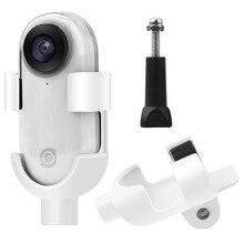 Kunststoff Adapter für Insta360 gehen Halterung mit 1/4 Schraube Kamera Interface Rahmen Silikon Fall für Insta360 Zubehör