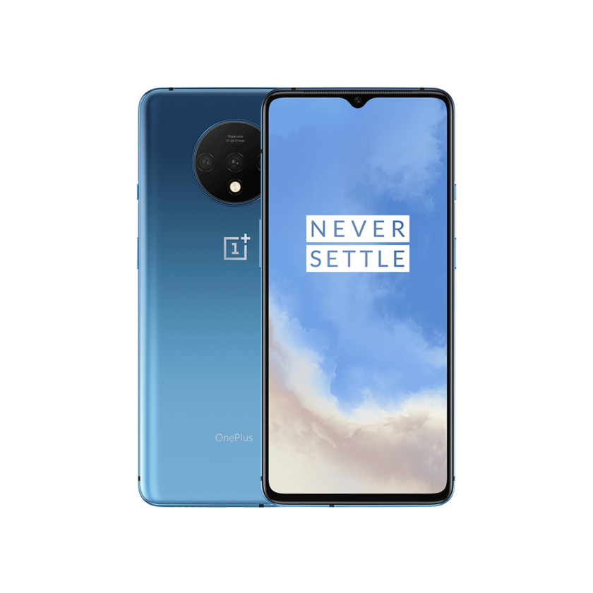 Na stanie OnePlus 7T 8GB 256GB 128GB Smartphone Snapdragon 855 Plus octa core 90Hz ekran amoled 48MP potrójne kamery UFS 3.0 NFC
