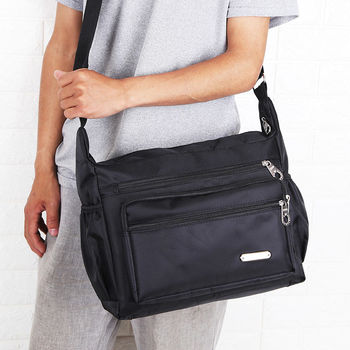 New Fashion Waterproof Man Single Shoulder Bags High Quality Travel Business Male Crossbody High capacity Bags Tote Hot Sale цена 2017