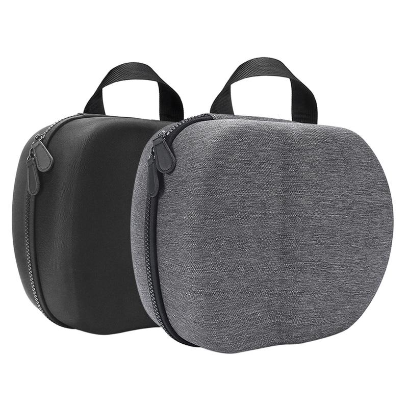 Bolsa eva dura portátil capa protetora saco de armazenamento caixa de transporte para-oculus quest 2 vr fone de ouvido e acessórios