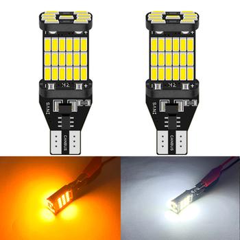 1pcs T15 led Canbus 921 W16W Car Backup Reverse Bulb Lights for BMW E46 E39 E90 E60 E36 F30 F10 E30 E34 X5 E53 M M3 M4 Z4 Z3 image