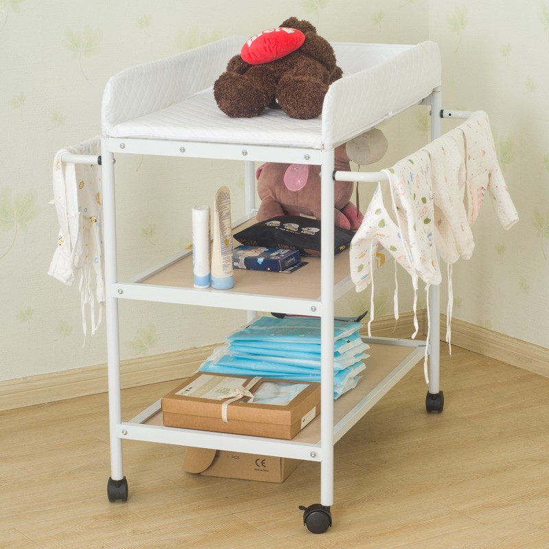 Foldable Care Bed Massage Shower Folding Style Infant Newborn Changing Table Safety Care Station Baby Mats Gift Wholesale HWC