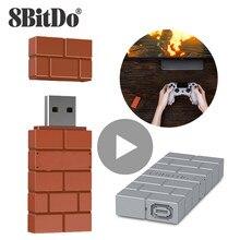 8bitdo Bluetooth Gamepad Joystick PS4 PS3 Xbox One S 360 Nintendo Nintendo anahtarı Joy Con Wii U Pro PC kontrol USB denetleyicisi