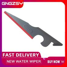 Vinyl Wraps Window Tinting Water Wiper Squeegee with Rubber Tips for Glass Cleaner Car Windshield Bathroom Mirrors Squeegee A72