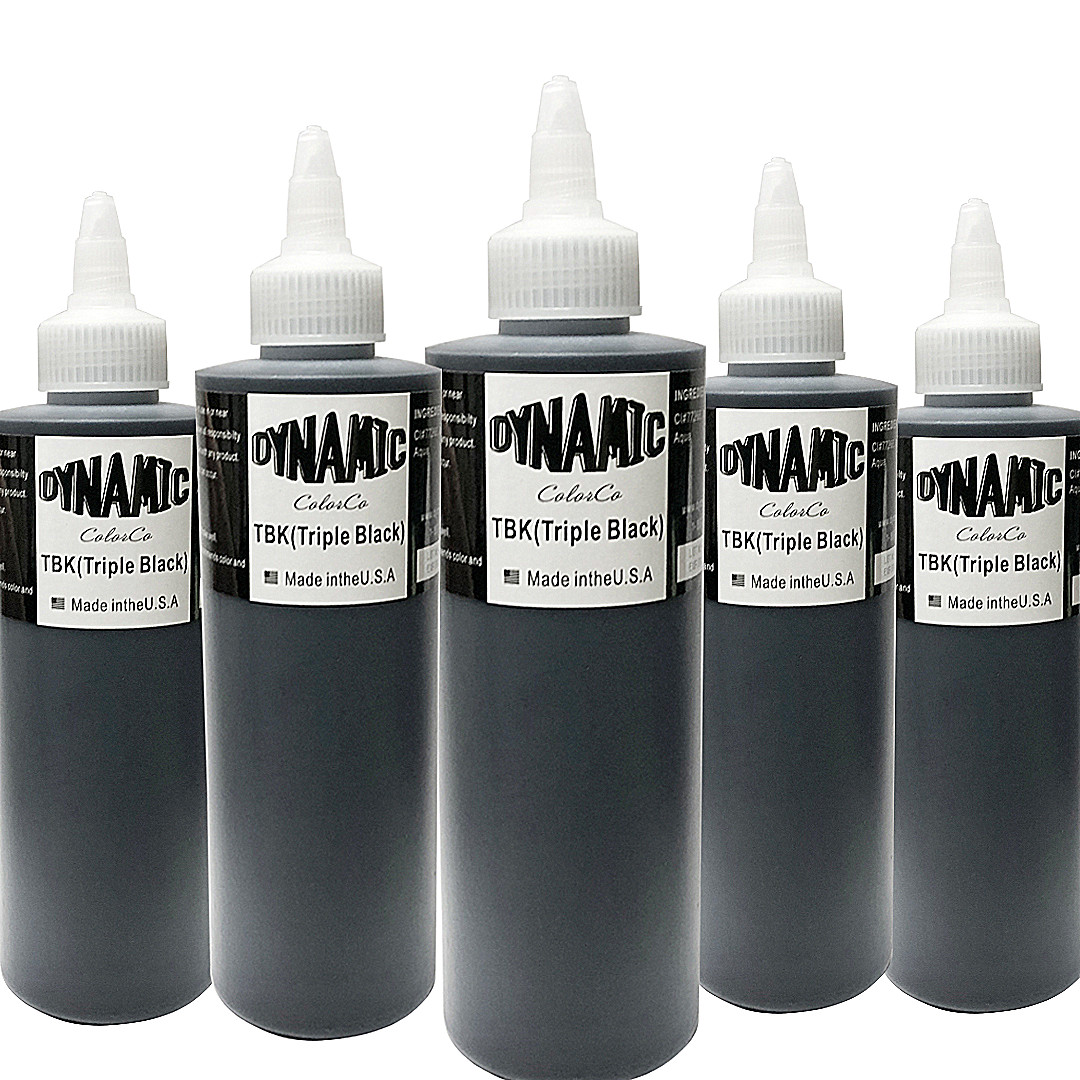 Dynamic Tattoo Ink Black Permanent Makeup Pigment Micro-scratch Micro Pigmentation Pigment For Body Paint Tattoo Color (30ML