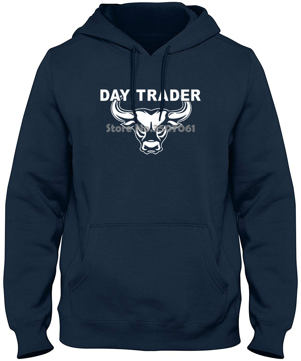 Style long Sleeve Print Day Trader Wall Street Mad Stock Market Trading Cramer MoneyBull Bear Jim gym jogger tshirt t shirt image