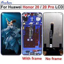Original Display for Huawei Honor 20 YAL L21 LCD Touch Screen Digitizer Replace For Huawei Honor 20 Pro YAL AL10 YAL L41 LCD
