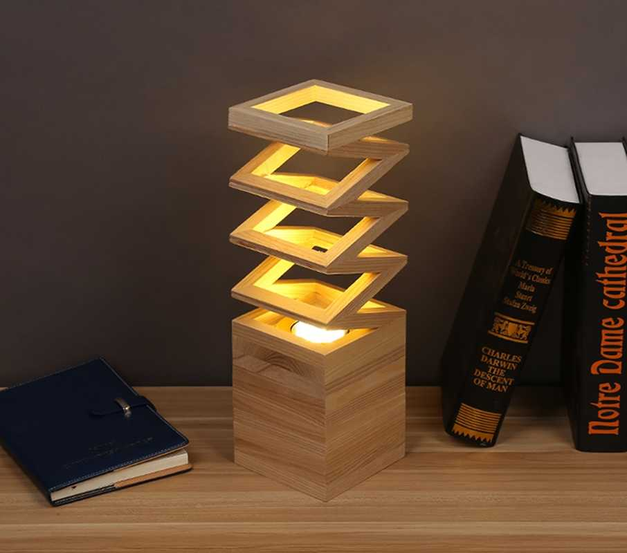 Wood Table Lamp Led Table Wood Light Living Room Bedroom Study Light Good Quality Table Lamps Aliexpress