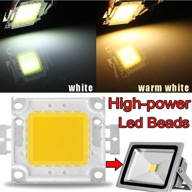 10W/30W/50W/70W/100W Diy lámpara de iluminación Chip integrado jardín cuadrado fuente de luz COB SMD Reflector con bombilla de foco Led