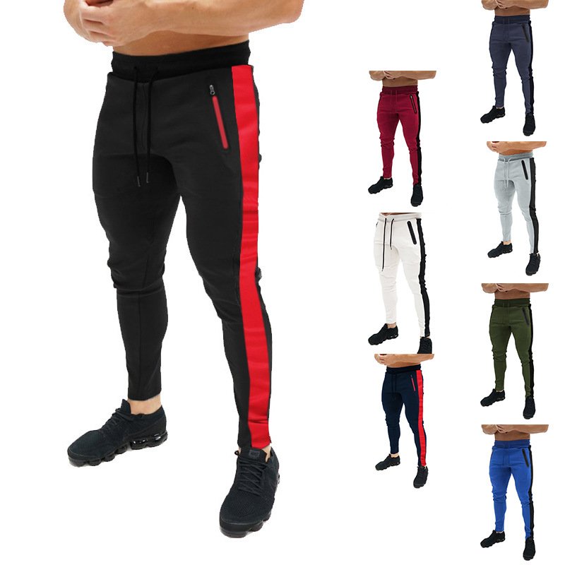Large Cargo Special Offer 2019 Ouma Slim Fit Sports Joint Drawstring Bag Opening Design MEN'S Trousers