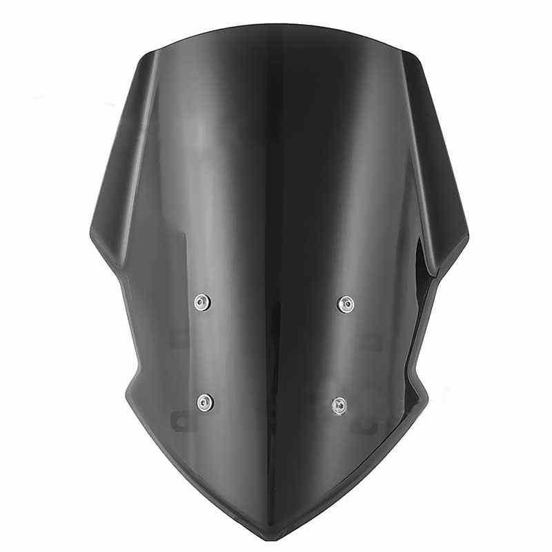 Мотоциклетные черные ветровые стекла высокой плотности износостойкие ветровые дефлекторы для MT-07 FZ-07 2015 2016 2017 2018 2020