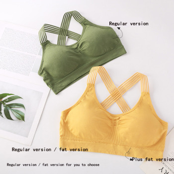 Women yoga sport bra women shockpr
