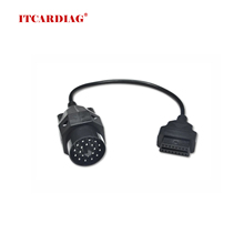 OBD II Adapter for BMW 20 pin to OBD2 16 PIN Female Connector e36 e39 X5 Z3