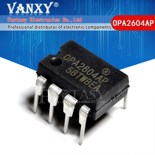 5 adet OPA2604AP DIP8 OPA2604A DIP OPA2604 DIP 8 2604AP çift fet giriş, düşük distorsiyon operasyonel amplifikatör
