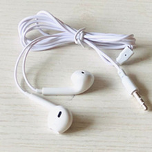 MP3/MP4 wired earphones without microphone music earphones i5 earmuffs as Mobile phone headset gift 1meter line
