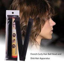 French Curly Hair Ball Head Hair Plate Hair