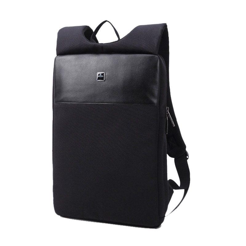 New Light and thin computer backpack black Men's business Backpack male mini laptop backpack Waterproof 14 /15 inch Computer Bag