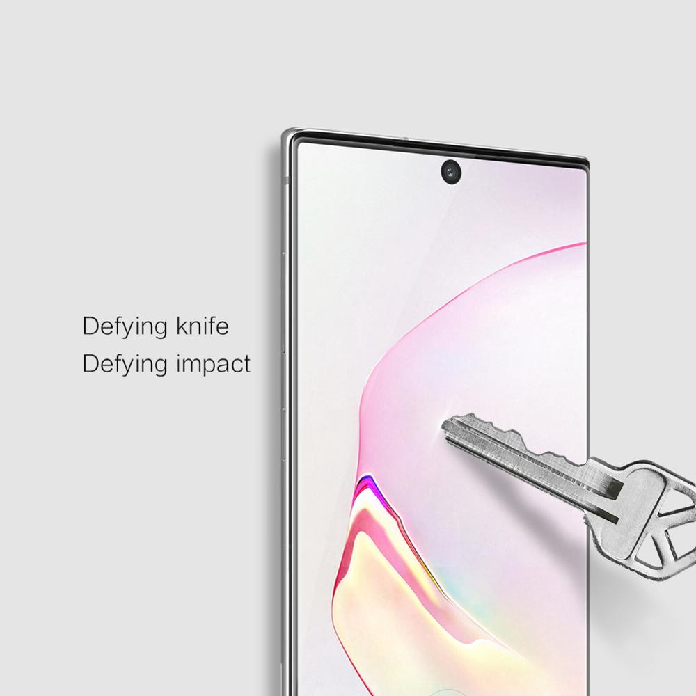 Image 5 - for Samsung Galaxy Note 10 9 8 S10 S9 S8 Plus Glass Screen Protector Nillkin 3D Full Glue Cover Tempered Glass for Samsung S10E-in Phone Screen Protectors from Cellphones & Telecommunications on