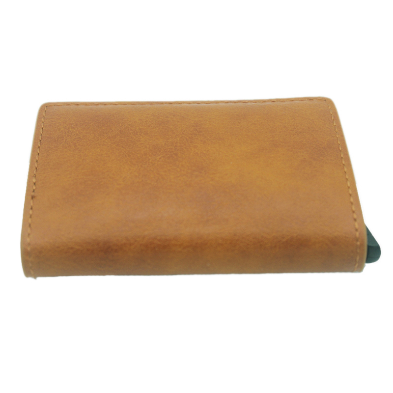 Vintage Classic Animal Chicken Rfid Card Holder Men Wallets Brown Short Purse Leather Slim Wallets Mini Wallets