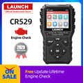 LAUNCH CR529 OBD2 Scanner Automotive Diagnostic Tool OBDII Code Reader Fault Code Read OBD Scan Creader 529 PK ELM327