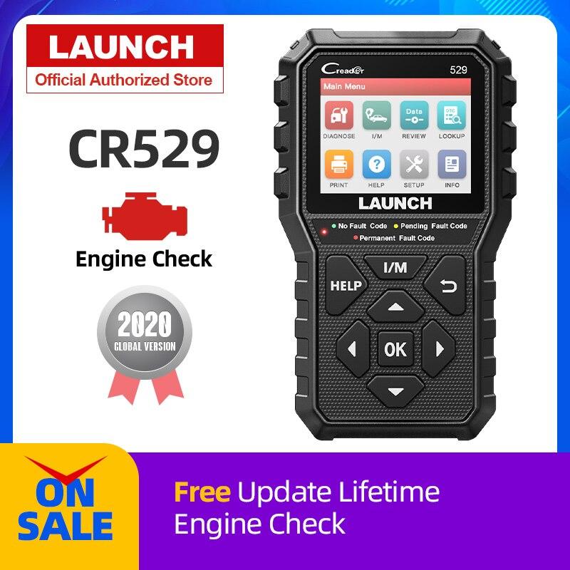 Сканер OBD2 LAUNCH CR529 для диагностики автомобиля, считыватель кодов OBDII, считыватель кодов неисправностей, считыватель кодов OBD, сканер Creader 529 PK ELM327|Считыватели кодов и сканеры|   | АлиЭкспресс