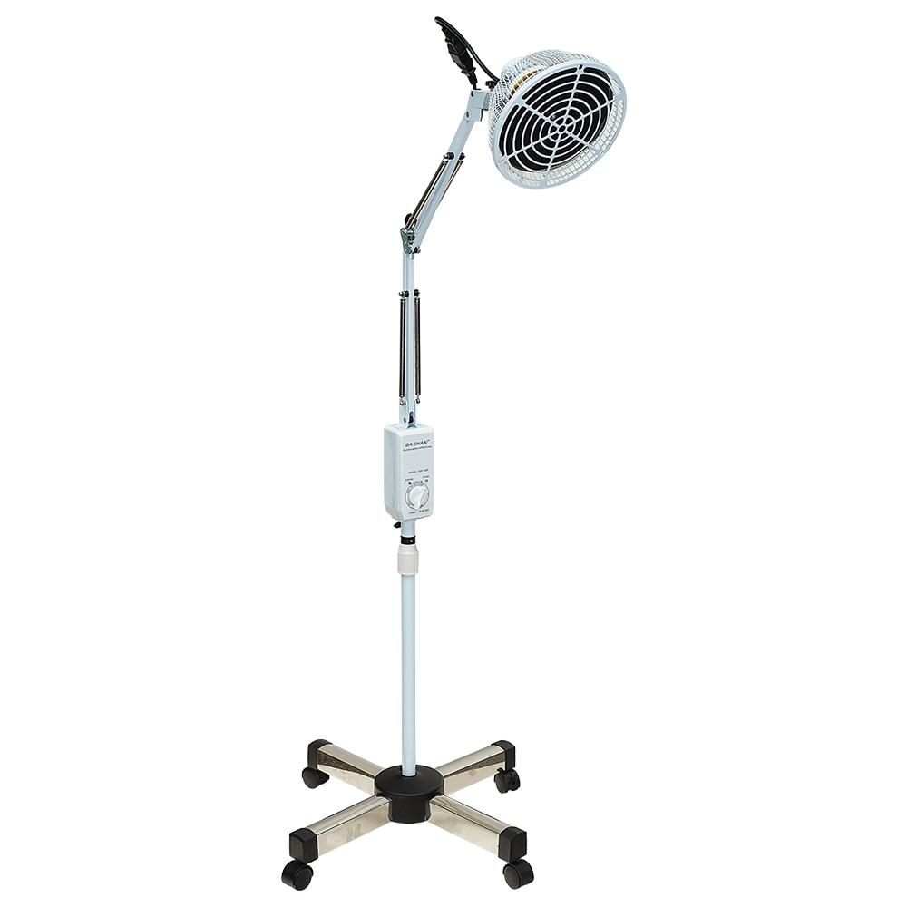 Lampe à infrarouge lointain TDP, thérapie minérale, soulagement de la douleur pour le cou, le dos, les épaules, le genou, avec tête amovible, hauteur réglable