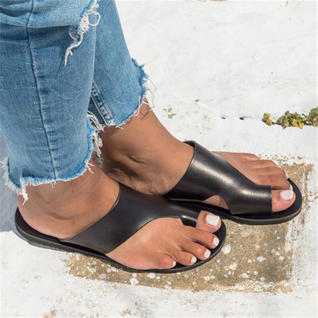 JAYCOSIN Beach Shoes Woman Wedges Open Toe Ankle Roman Slipper Ladies Shoes Casual Summer Women Shoes zapatos de mujer slides 1 2