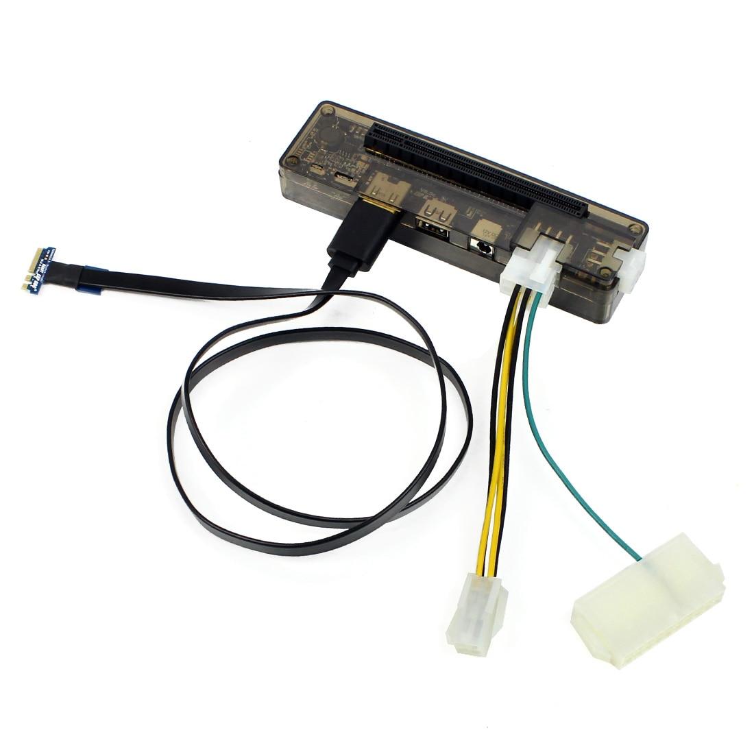 EXP GDC External Laptop Video Card Mini PCI-E /NGFF M.2 A Key Interface Version Graphics Card Docking Station