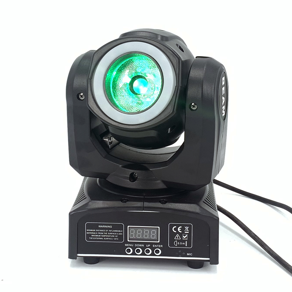 Dj Beam Mini Moving Head 65W Met 12LED SMD5050 Rgb Led Licht Super Heldere 60W Led Dj Spot licht Dmx - 3