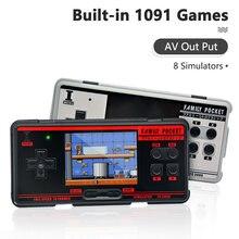 Fc3000 портативная игровая консоль 8 симулятор встроенный 1091