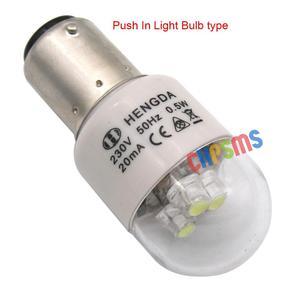 Image 3 - Bombillas LED de tipo Push In, LED BA15D, 220 voltios, aptas para Kenmore Bernina PFAFF SINGER, 10 Uds.