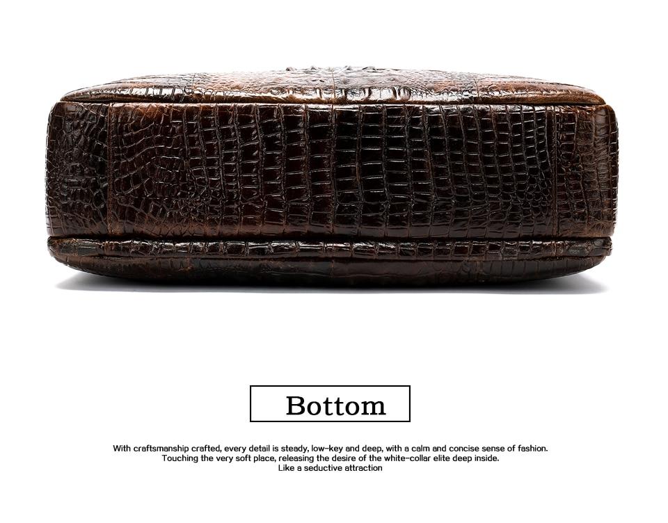 Hdd1641f4a69545e8bbca4e38ae0a6dd9X WESTAL Men Briefcase Men's Bag Genuine Leather Office Bags for Men Laptop Bag Leather Briefcase Men Croco Design Computer Bags